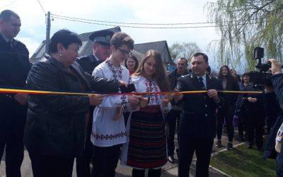 Satul Budești are o alee a siguranței