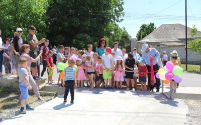 Încă un teren de joacă pentru copii în orașul Ialoveni