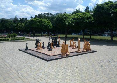 Tablă de șah în parc