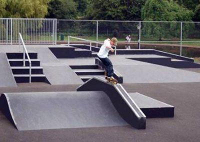 Amenajarea unui teren skateboard