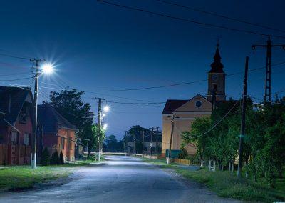 Iluminarea stradală cu console LED