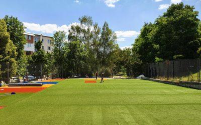 Un nou teren sportiv multifuncțional în orașul Ialoveni mulțumită bugetului participativ