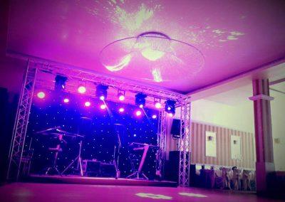 Efecte de lumină pentru scenă, corturi, vestiar și urne mobile