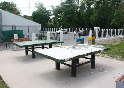 Masă de tenis în parcul central